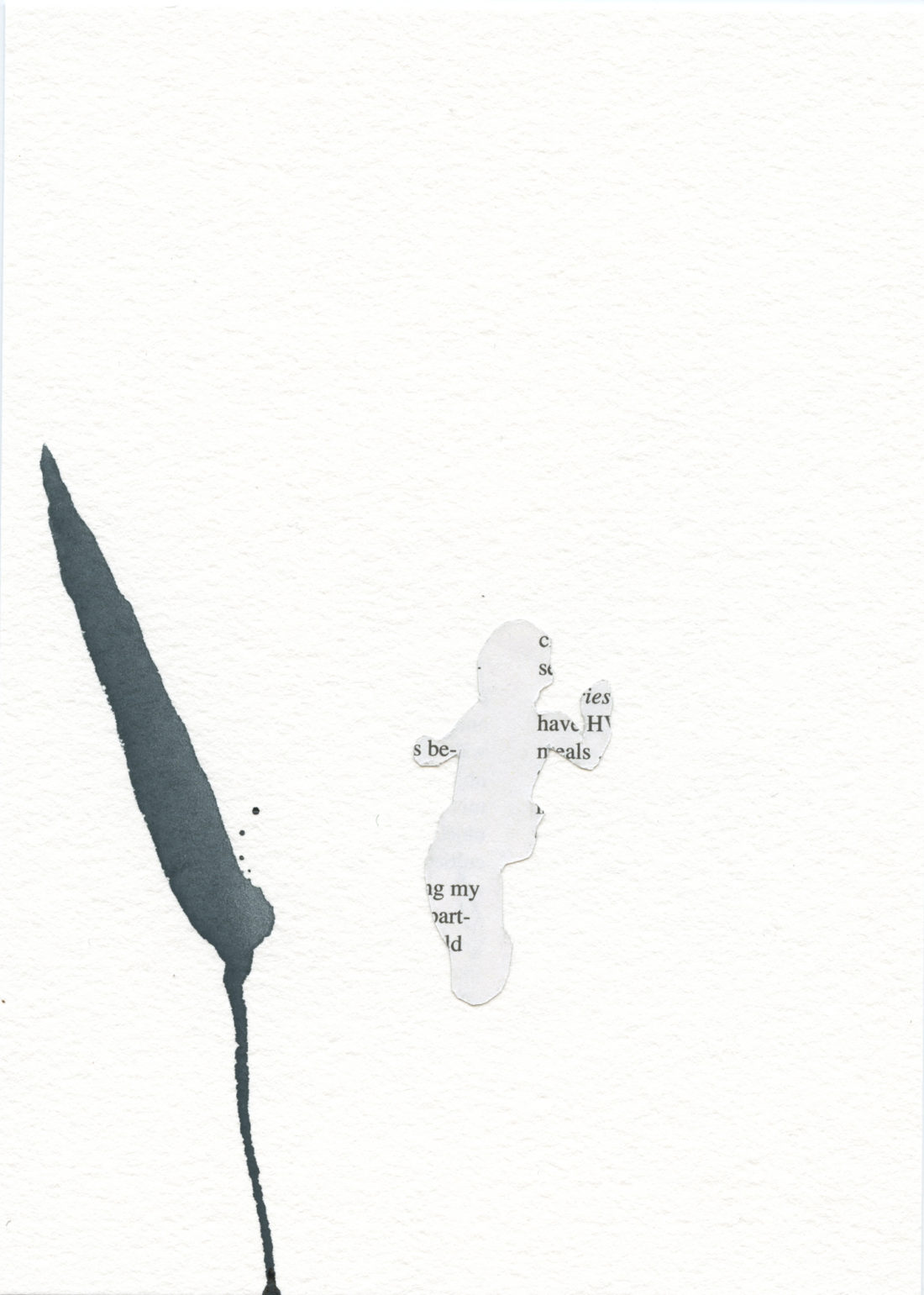 There are more than 5 stages of Grief (detail), a project by Nicole Rademacher