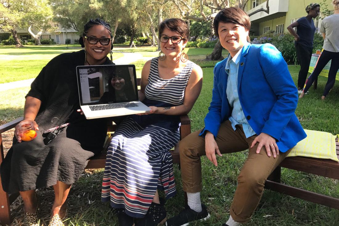 Belonging Panel at Acogedor with Debbie Allen, W. F. Umi Hsu, & Angela Waseskuk, 2017