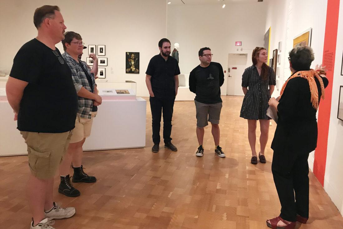 Origin Stories at MOCA Pacific Design Center with Jerri Allyn, 2017